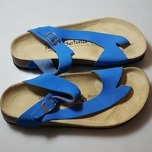 Betula by Birkenstock Blue Sandals